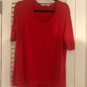 Small Red Gap Top